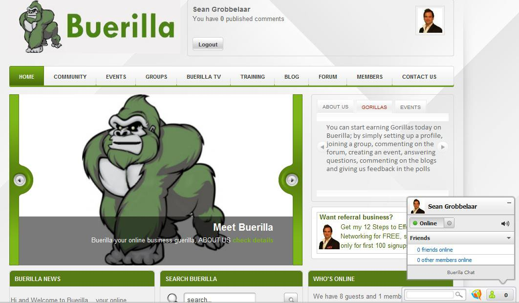 Buerilla.com, a new startup that's got the industry talking.