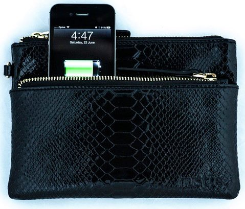 Hustle: The innovative handbag with in-built phone charger