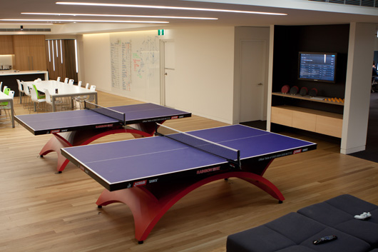 Beau Campaign Monitor Take Ping Pong Very Seriously | Source: Campaign Monitor  Blog