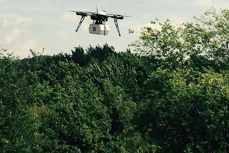 Flirtey beats Amazon to market, launching the first medical drone deliveries in the US