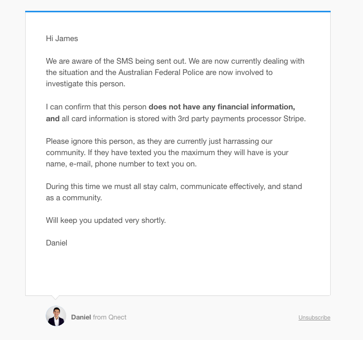 Qnect Email