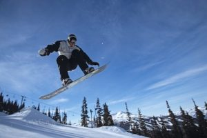 Blackcomb Terrain Park, winter, Whistler, British Columbia, Canada, North America