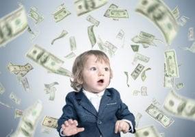 child, money