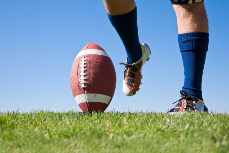 football, kick