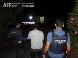 AFP, arrest, Ironside