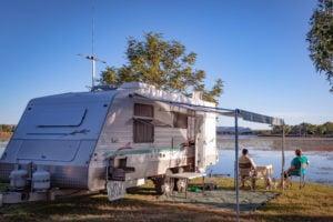 caravan, camping
