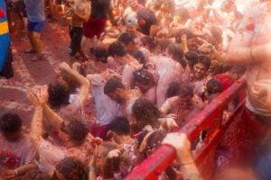 Tomatina festival, Spain