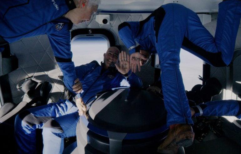 Blue Origin space capsual, Jeff Bezos