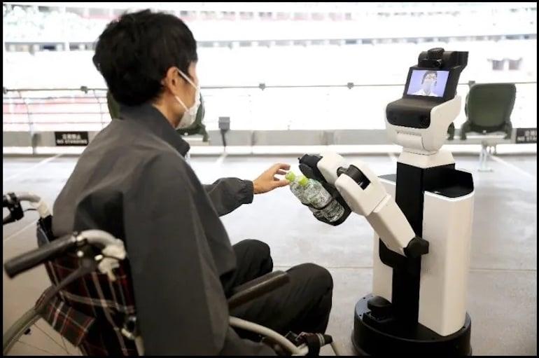 wheelchair robots