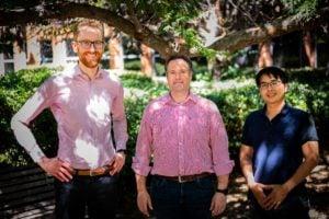 Quantum Brilliance co-founders