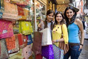 India, shopping
